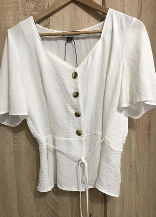 Белая блуза primark