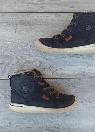 Ecco детские зимние ботинки кожа оригинал 26 размер