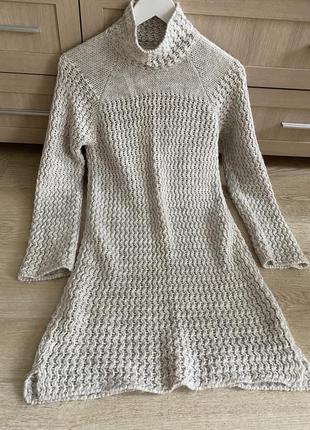 Очень красивое платье softgrey шерсть в составе