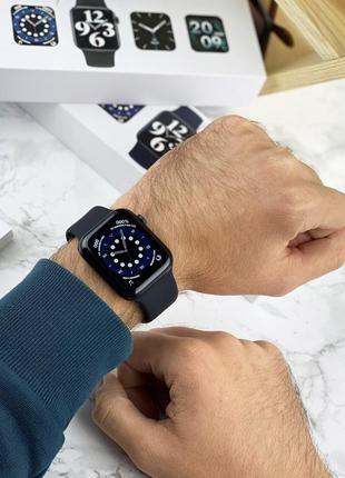 Мужские умные часы, смарт часы, черные