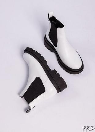 Ботинки челси деми кожа