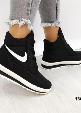 Зимние дутики, кроссовки, ботинки