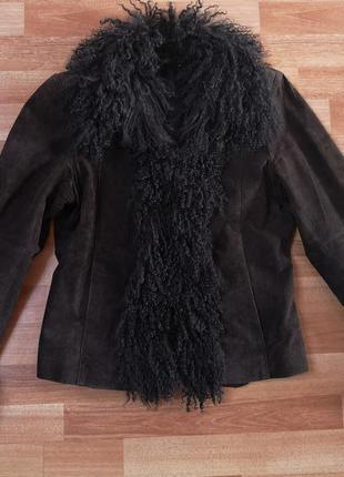 Куртка из натурального замша cortefiel
