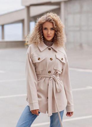 Распродажа! пальто-кардиган женский кашемировый