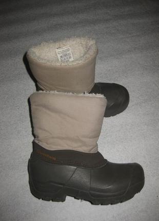 21 см стелька, зимние термо  сапоги сноубутсы quechua decathlon