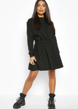 Качественное 100% котон крутое стильное тёплое платье туника