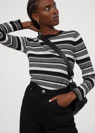 Новый джемпер, свитер, гольф h&m. размер m