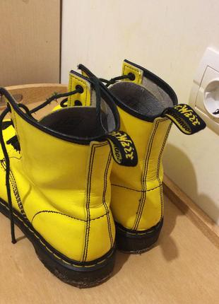 00bea2f536fc Жёлтые ботинки dr. martens 38, 39 Dr. Martens, цена - 1200 грн ...