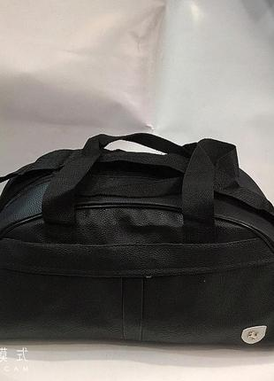 Новая спортивная дорожная сумка из экокожи