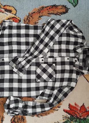 Стильная рубашка натуральная