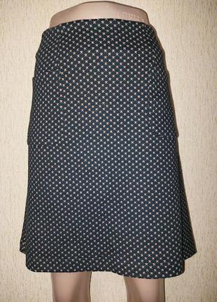 Стильная короткая женская трикотажная юбка far face