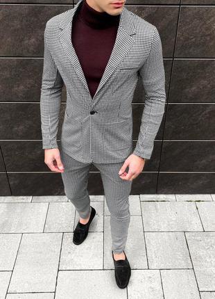 Деловой костюм піджак брюки