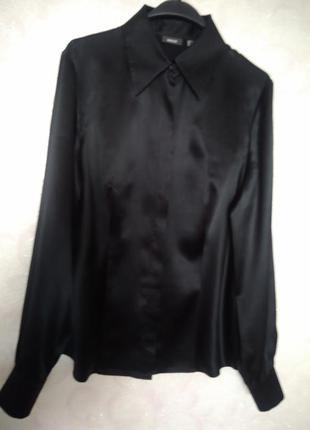 Блуза/рубашка из атласного шелка mexx, p. l