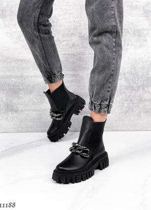 Р. 36-40 кожаные ботиночки