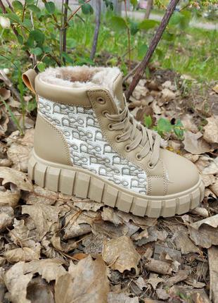 Высокие кеды  хайпоты на меху  🌿 кроссовки кеди ботинки на платформе осенние деми