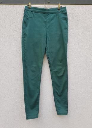 Классные стрейчевые штаны скинни marks &spencer