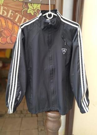Базова вітровка куртка adidas оверсайз