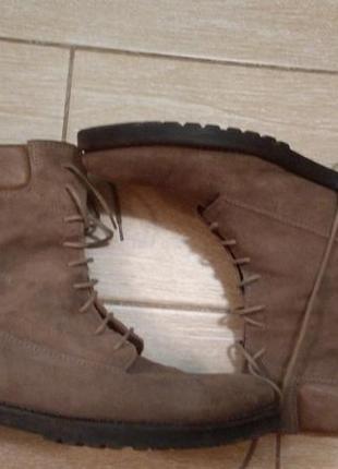 Клёвые замшевые ботинки