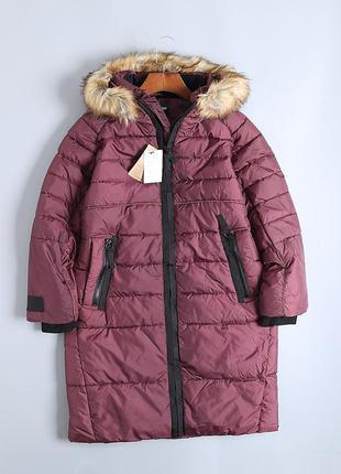 """Куртка зимняя женская удлиненная """"bonobo"""""""