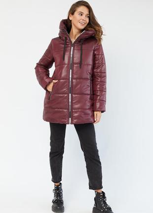 Куртка зимняя женская оверсайз свободная. большие размеры