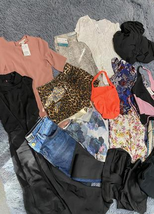 Большой пакет лот женской одежды xs-s размер h&m