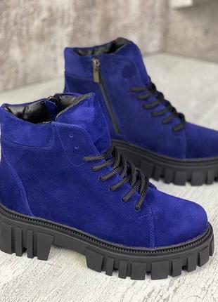 Ботинки натуральная кожа замша деми и зима ❄️