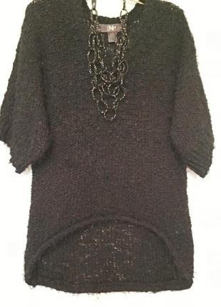 Стильный свитер букле+ травка ellos,  размер 50-52.