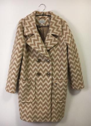Шерстяное пальто comma модель бойфренд5
