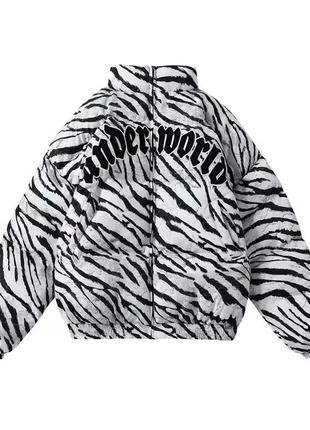 Пуховая курточка в стиле харадзюку