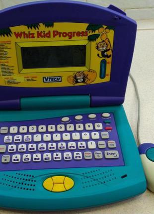 Ноутбук vtech laptop whiz kid progress . английский язык