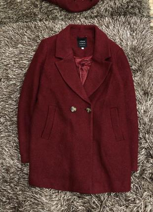 Натуральное пальто john levis