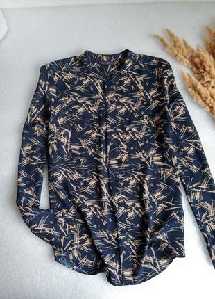 ✨легенька ,неперевершена ,шифонова блуза із накладними карманами✨