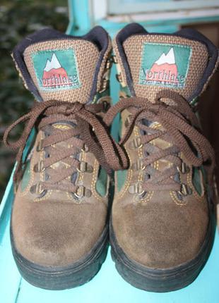 Крутые треккинговые ботинки