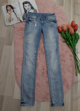 """Стильные стрейчевые джинсы""""only""""р.м"""