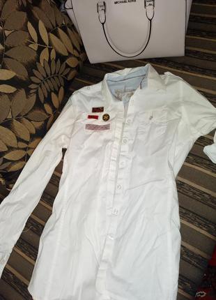 Рубашка collins в стиле rock