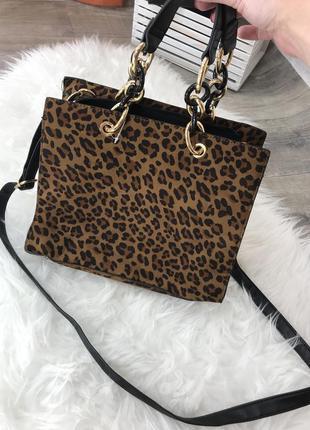 Крутая сумка new look актуальный принт