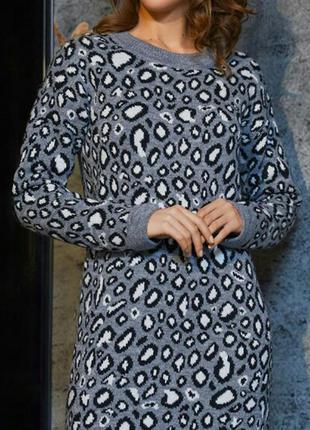 Sl.ira вязаное платье миди р м-л-хл-ххл
