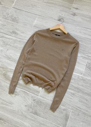 Шерстяной гольф gant водолазка джемпер пуловер gant