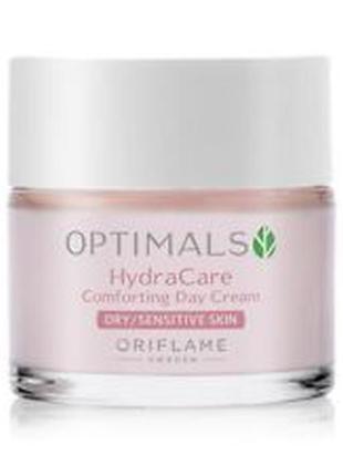 Зволожуючий денний крем для сухої/чутливої шкіри optimals hydra care