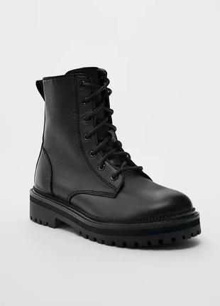 Демисезонные ботинки zara в наличии 36, 37, 39 р.