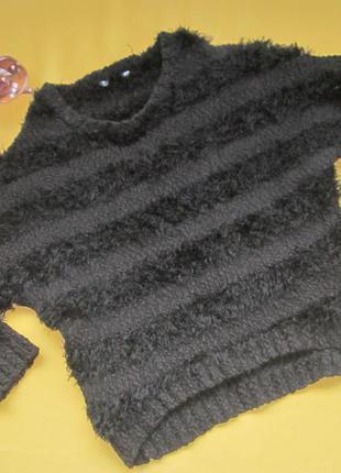 Тёплый стильный свитер,удлинённая спинка,miss  e-vie,на 8-9 лет