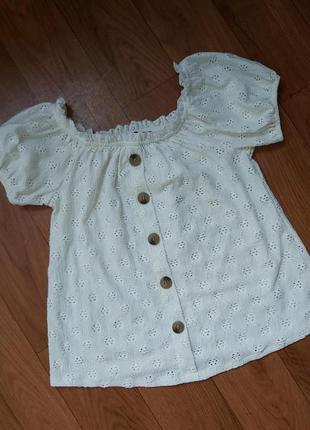 Красивая блуза-топ ,кружево