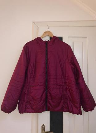 Невeсомая куртка хамелеон большого размера бренд anthology
