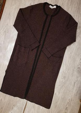 Вязанный кардиган, куртка zara