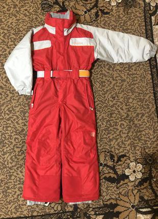 Зимний лыжный термо костюм для мальчика