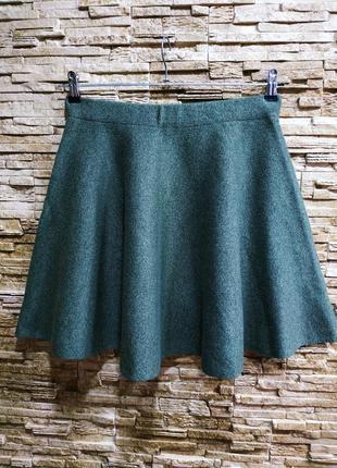Шикарная теплая юбка