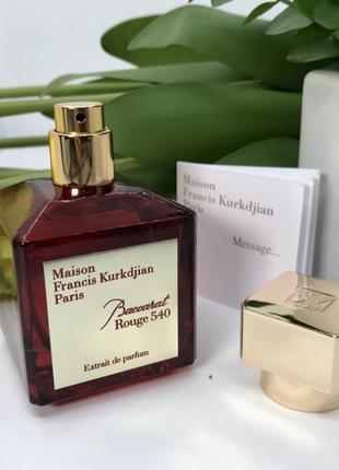 Парфюмированная вода в стиле baccarat rouge 540 extrait de parfum