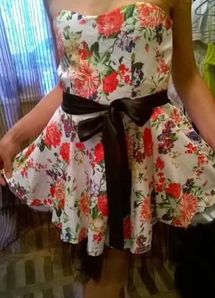 Пышное платье модель (куколка)