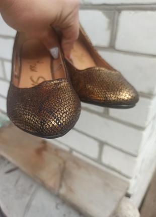 Туфли лодочки с эффектом старения