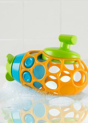 Игрушка для ванны подводная лодка oball tubmarine